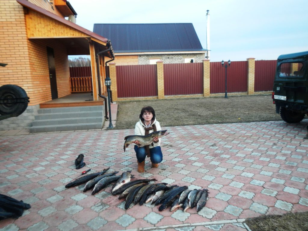 нас клюёт много и по разному рыбаловная база Черкасово охота и рыбалка 1024x768 - Рыбалка