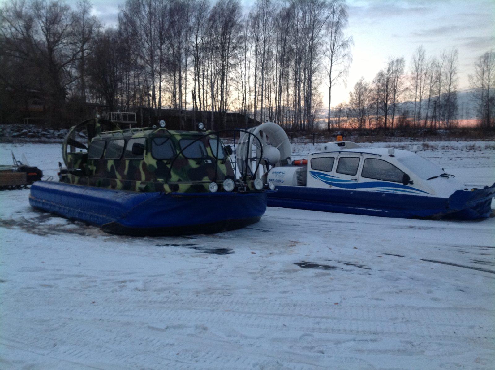 катера на воздушной подушке рыбалка охота и отдых рыболовная база Черкасово рыбинское водохранилище - наши катера на воздушной подушке