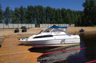 катер рыбалка охота и отдых рыболовная база Черкасово рыбинское водохранилище 2 335x220 - наш катер