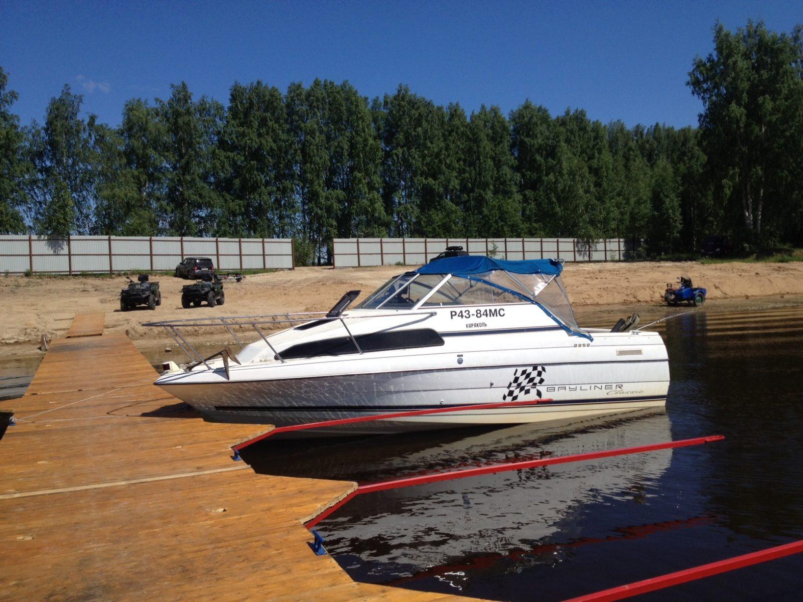 катер рыбалка охота и отдых рыболовная база Черкасово рыбинское водохранилище 2 - наш катер