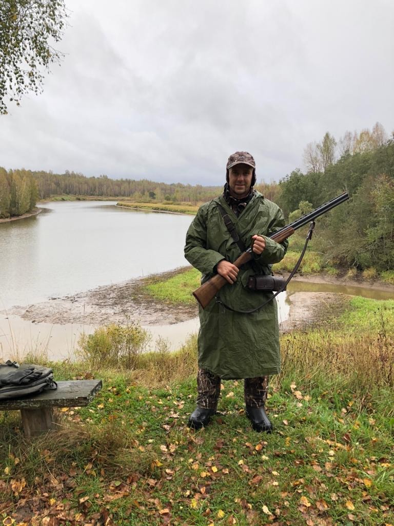 на берегу Рыбинки рыболовная база Черкасово рыбинское водохранилище 2 - охота на берегу Рыбинке