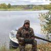 с лодки рыболовная база Черкасово рыбинское водохранилище 100x100 - охота на берегу Рыбинке