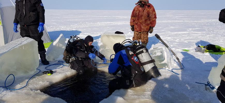 под лёд зимняя рыбалка и отдых рыболовная база Черкасово рыбинское водохранилище 6 870x400 - погружаемся под лёд