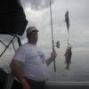 двойной улов рыболовная база Черкасово рыбинское водохранилище 100x100 - на таком катере и охота будет удачной